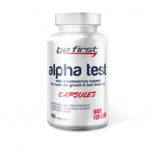 Тестобустер Be First  Alpha test 60капсул